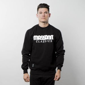 Bluza Mass Denim Sweatshirt Crewneck Classics - black