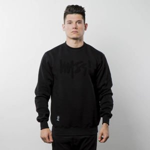 Bluza Mass Denim Sweatshirt Crewneck Edge - black