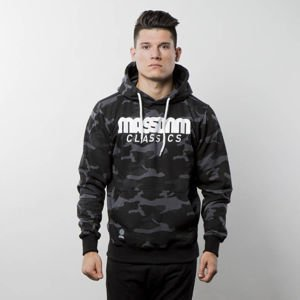 Bluza Mass Denim Sweatshirt Hoody Classics - black camo