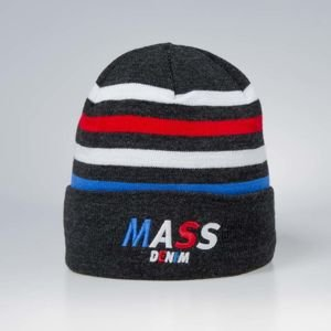 Czapka zimowa Mass Denim Beanie Grand - heather grey