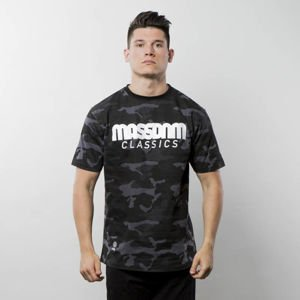 Koszulka Mass Denim T-shirt Classics - black camo