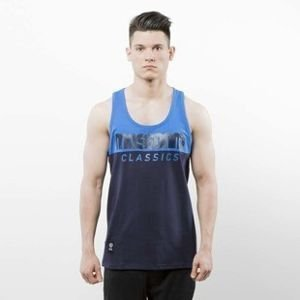 Koszulka Mass Denim Tank Top Classics Cut navy / blue SS 2017