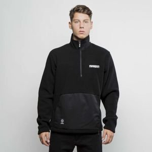 Mass DNM bluza Half Zip Tracktop Polar Fleece Play Off black