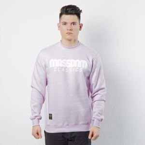 Mass DNM bluza Sweatshirt Crewneck Classics - light pink