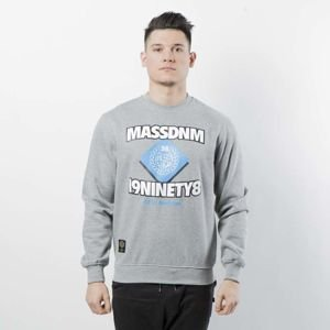 Mass DNM bluza Sweatshirt Crewneck Creator - light heather grey