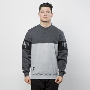 Mass DNM bluza Sweatshirt Crewneck Division - light heather grey