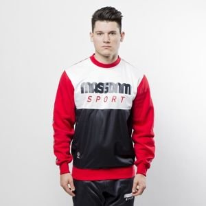 Mass DNM bluza Sweatshirt Crewneck Stripe - navy / red QUICKSTRIKE