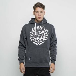 Mass DNM bluza Sweatshirt Hoody Base - dark heather grey