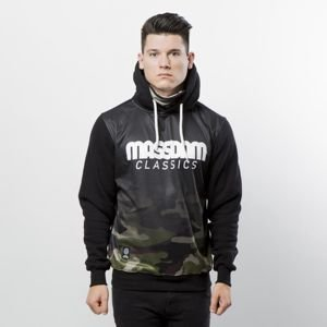 Mass DNM bluza Sweatshirt Hoody Eclipse - black
