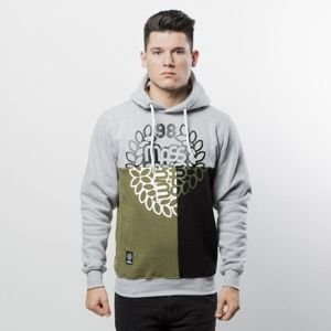 Mass DNM bluza Sweatshirt Hoody Puzzle - light heather grey