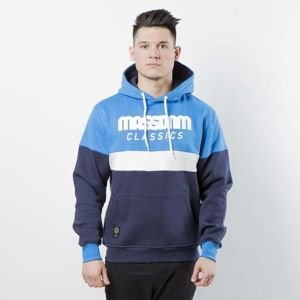 Mass DNM bluza Sweatshirt Hoody Respect - blue / navy