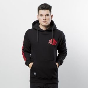 Mass DNM bluza Sweatshirt Hoody Rose - black QUICKSTRIKE