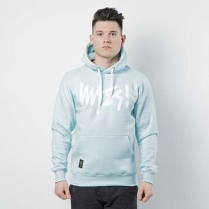 Mass DNM bluza Sweatshirt Hoody Signature - light blue