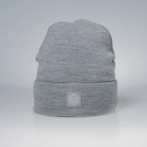 Mass DNM czapka zimowa Base Beanie light heather grey