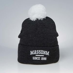 Mass DNM czapka zimowa Campus Beanie dark heather grey