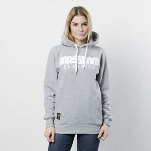 Mass DNM damska bluza Sweatshirt Hoody Classics WMNS - light heather grey