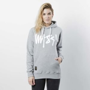 Mass DNM damska bluza Sweatshirt Hoody Signature WMNS - light heather grey