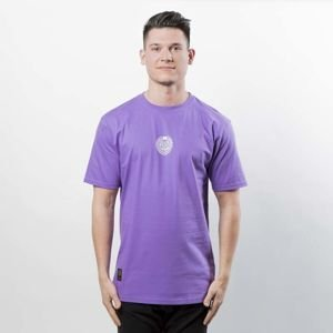 Mass DNM koszulka Base SL Print T-shirt purple LIMITED EDITION