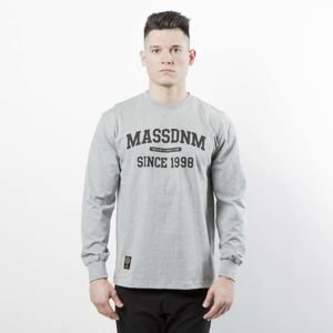 Mass DNM koszulka Longsleeve Campus - light heather grey