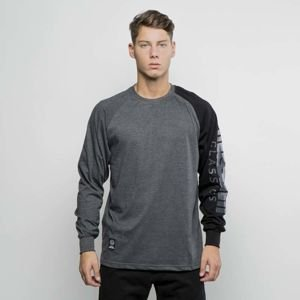 Mass DNM koszulka Longsleeve Section - dark heather grey