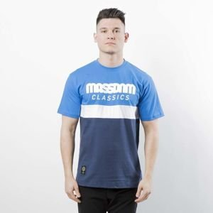 Mass DNM koszulka T-shirt Respect - blue / navy