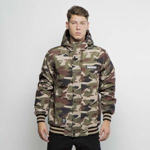 Mass DNM kurtka zimowa District Jacket - woodland camo