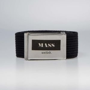 Mass DNM pasek  Plate Belt black