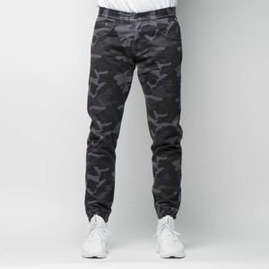 Mass DNM spodnie Base Joggers Sneaker Fit - black camo