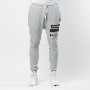 Mass DNM spodnie dresowe Trace Joggers Sweatpants - light heather grey