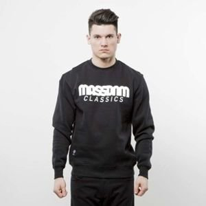 Mass Denim bluza crewneck Classics black