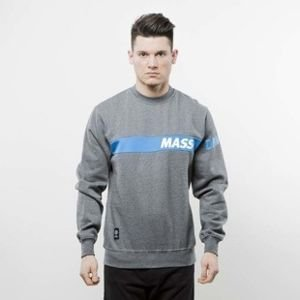Mass Denim bluza crewneck Flip dark heather grey