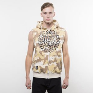 Mass Denim bluza hoody Base Zip Sleeveless desert camo