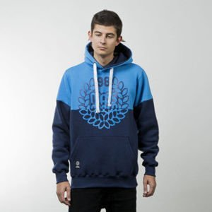 Mass Denim bluza sweatshirt Base Cut hoody blue / navy
