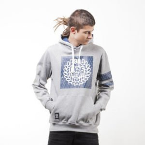 Mass Denim bluza sweatshirt Champion hoody light heather grey