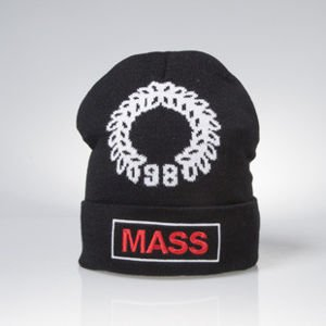 Mass Denim czapka zimowa Conversion beanie black BLAKK