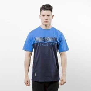 Mass Denim koszulka T-shirt Classics Cut navy / blue SS 2017