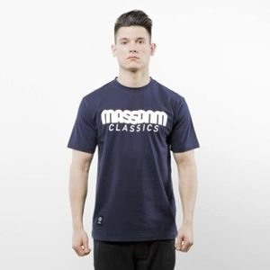 Mass Denim koszulka T-shirt Classics navy SS 2017