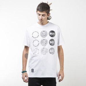 Mass Denim koszulka t-shirt Mind white