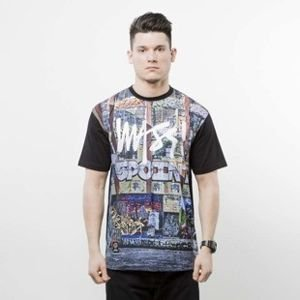 Mass Denim koszulka t-shirt R.I.P. 5Pointz multicolor SS 2017