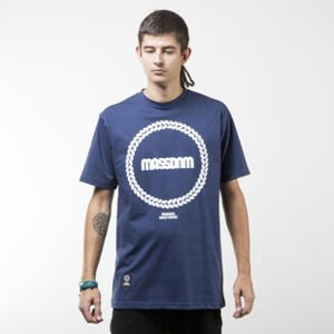 Mass Denim koszulka t-shirt  Ring navy
