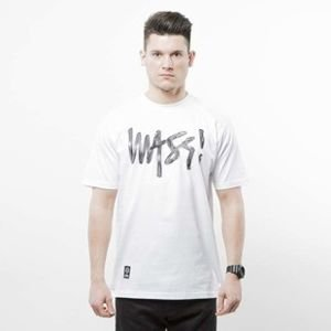 Mass Denim koszulka t-shirt Signature Handmade white SS 2017
