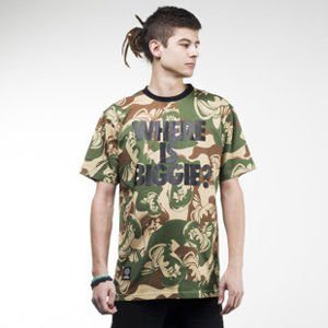 Mass Denim koszulka t-shirt Where is Biggie camo