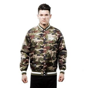 Mass Denim kurtka Signature Handmade Jacket woodland camo