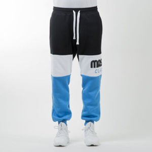 Mass Denim spodnie dresowe sweatpants Classics Cut black / blue