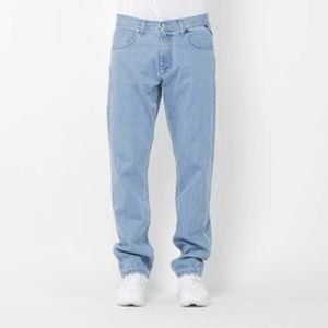 Mass Denim spodnie jeans Dripline regular fit light blue SS2017