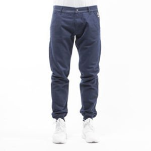 Mass Denim spodnie jogger chino Classics sneaker fit navy