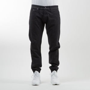 Mass Denim spodnie jogger pants Signature sneaker fit black