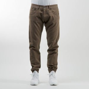 Mass Denim spodnie jogger pants Signature sneaker fit khaki