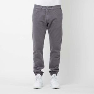 Mass Denim spodnie joggers Base sneaker fit dark grey