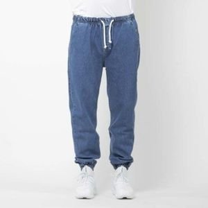 Mass Denim spodnie joggers jeans Drop loose fit blue